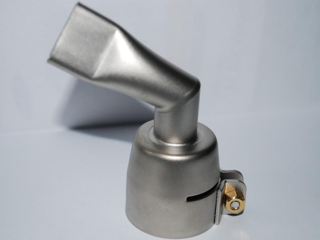 105.503 Щелевая насадка 20 мм на 60 градусов левая для сварки внахлёст