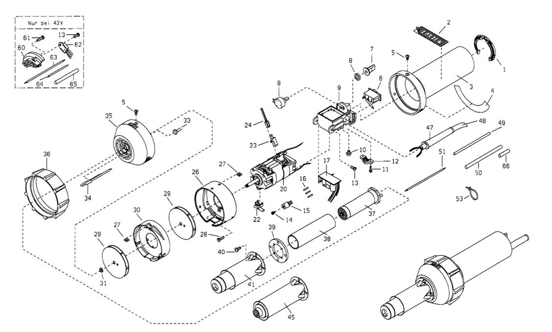 схема устройства и ремонта