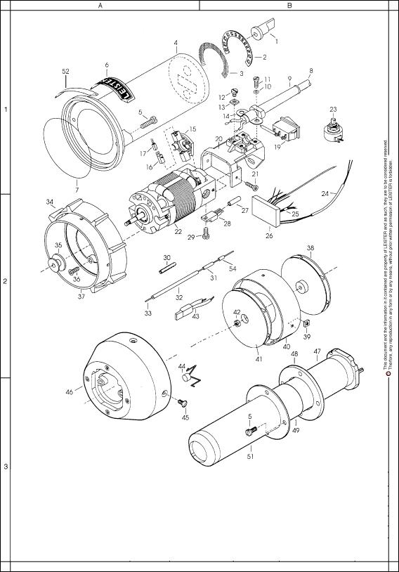 Схема устройства Leister Electron