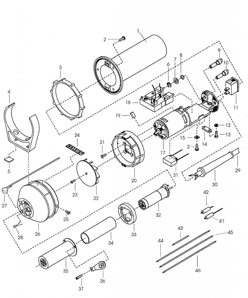 Схема устройства Hot Jet S